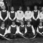 Lily Hardy, Notts Hockey Team c1927.jpg